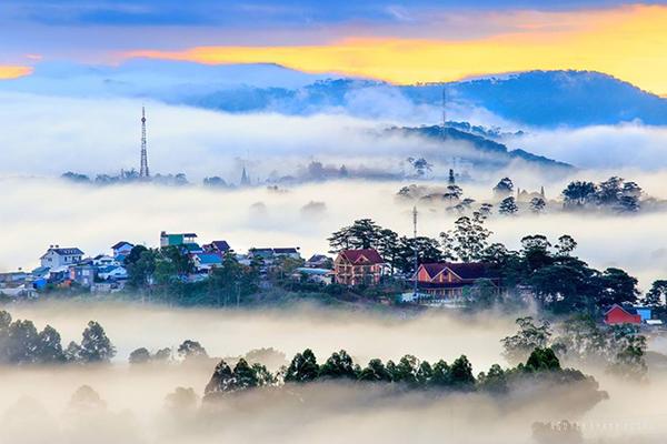 Đà Lạt - Thành phố sương mù