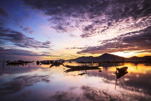 Vẻ đẹp hút hồn của đầm phá Tam Giang