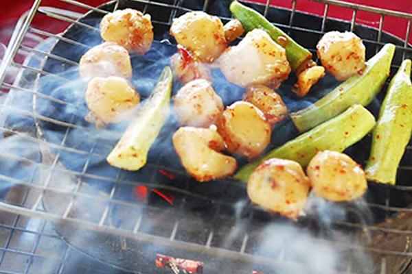 Còi biên mai nướng – món ăn cực ngon