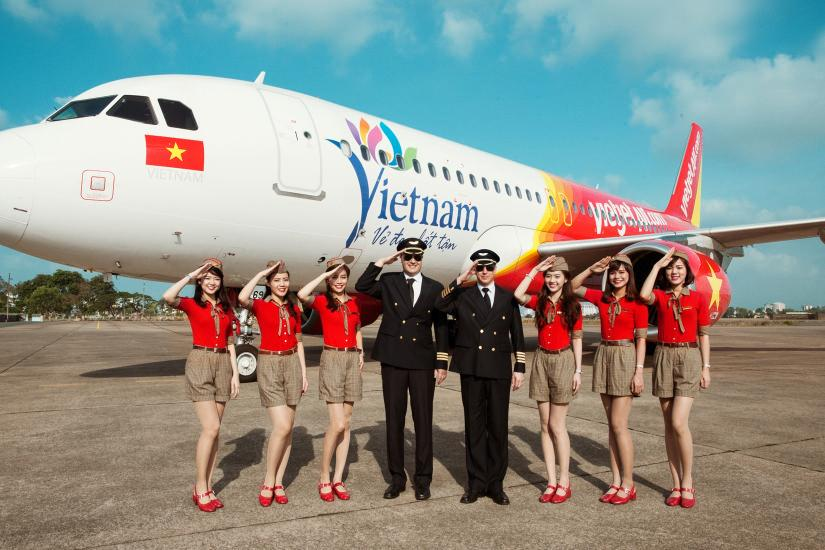 Săn vé máy bay giá rẻ Vietjet
