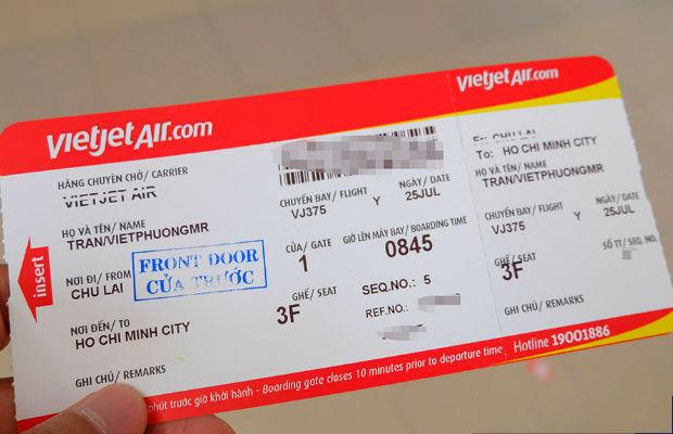 Thanh toán vé máy bay Vietjet bằng thẻ ATM